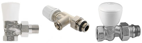 hydronic heating valves